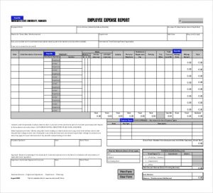employee performance review template word employee expense report