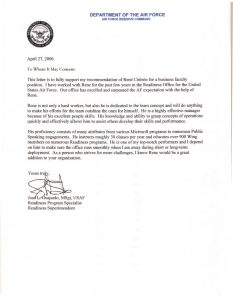 employee recommendation letter af letter of recommendation cover letter example in air force letter of recommendation template