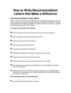 employee recommendation letter how to write a recommendation letter oalbanl