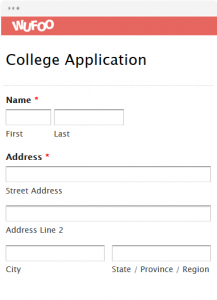 employee reimbursement form college application
