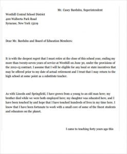 Employee resign letter template business employee resign letter new teacher job resignation letter thecheapjerseys Gallery