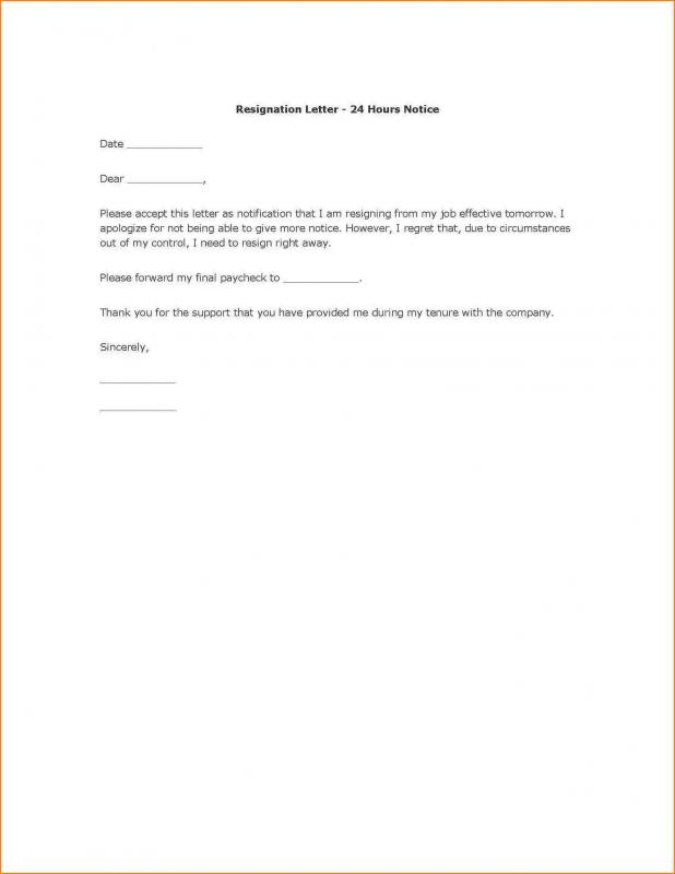 Thank You Resignation Letter Choice Image  Letter Format Formal Sample