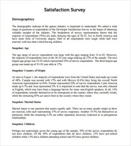 employee satisfaction survey employee satisfaction survey report