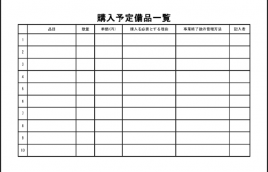 employee sign in sheet list