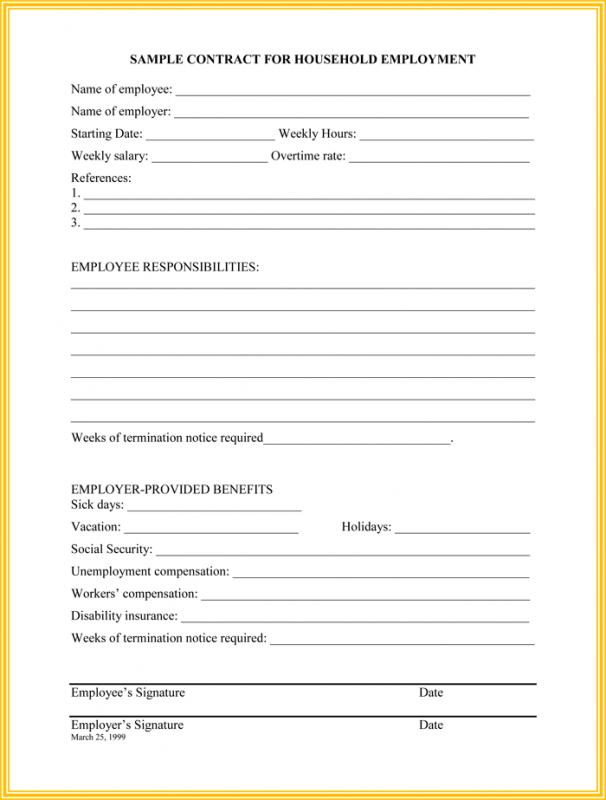 employee termination template
