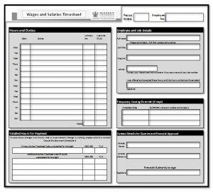 employee timesheet template timesheet basic