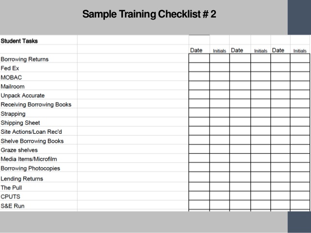 Employee Training Plan Template | Template Business