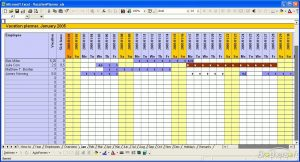 employee vacation tracker vacation planner
