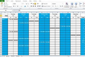 employee work schedule template employee shift schedule generator template