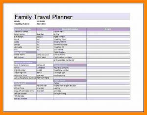 employee work schedule template travel schedule templates family travel planner