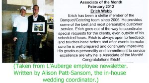 employee write up sample ada b