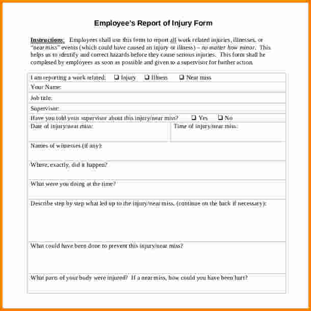 employee write ups templates