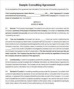 employees loan agreement consulting contract template free download