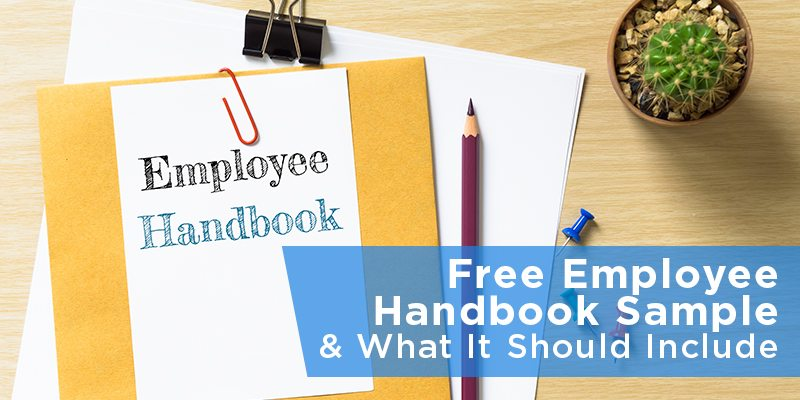 company handbook template free - employees manual template template business