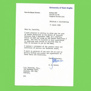 employment acceptance letter bf z