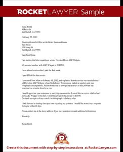 employment agreement sample product complaint letter sample return merchandise letter sample complaint letter template