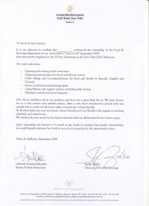 employment agreement template musterzeugnis
