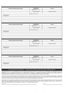 employment application form pdf simple employment application form