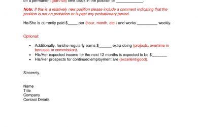 employment letter template sample employment letter