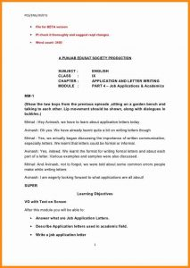 Employment Letters Of Recommendation Formal Letter Format To Principal Formal  Letter Writing Topics Ix Application And