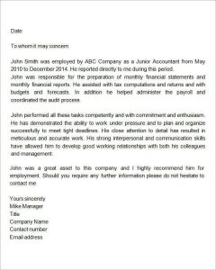 Employment letters of recommendation template business employment letters of recommendation sample recommendation letters for employment documents in word inside recommendation letter for altavistaventures Image collections