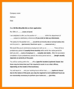employment reference letter sample employee offer letter job employment offer letter