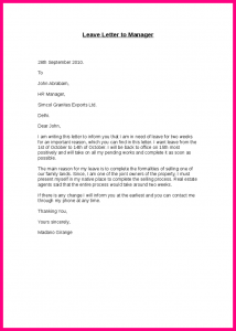 Employment reference letter sample template business employment reference letter sample inform letter to boss leave letter to manager altavistaventures Image collections