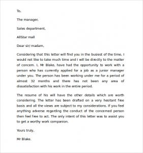 employment reference letter sample reference letter sample