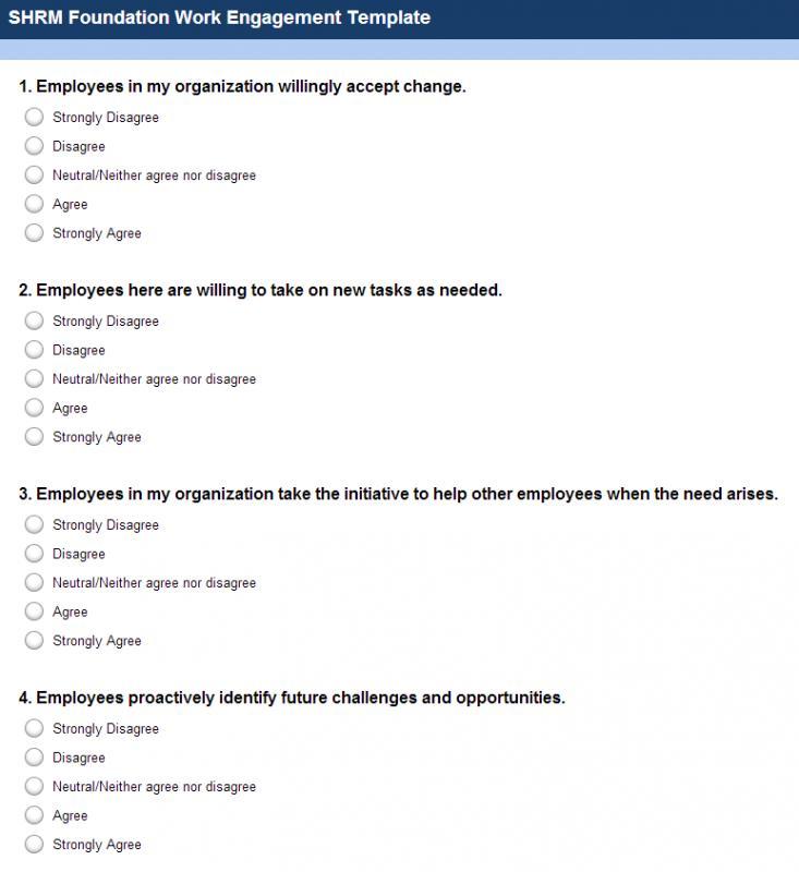 employment satisfaction survey questions