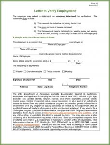employment verification template employment verification form template