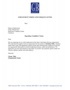 employment verification template employment verification letter template bbq grill recipes with employment verification letter