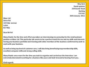 employment verification template thank you letter after interview email emqelhhz