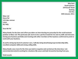 employment verification template thank you letter for job interview eltnquti