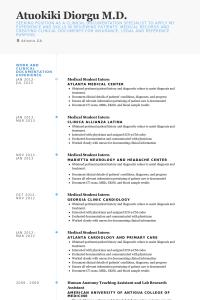 engineering skills resume medicalstudentinternresume example