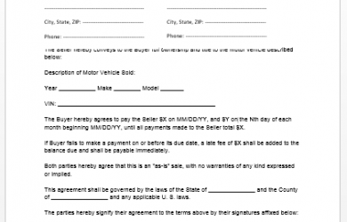 enterprise rental agreement car lease agreement template