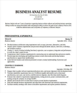 entry level business analyst resume professional business analyst resume