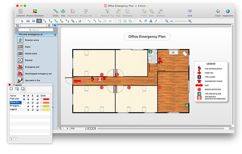 Evacuation plan templates template business evacuation plan templates accmission Image collections