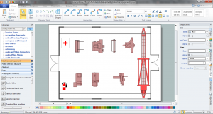 evacuation plan templates plant layout plan in conceptdraw
