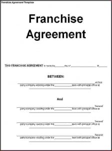 event contract template franchise agreement template franchise agreement template