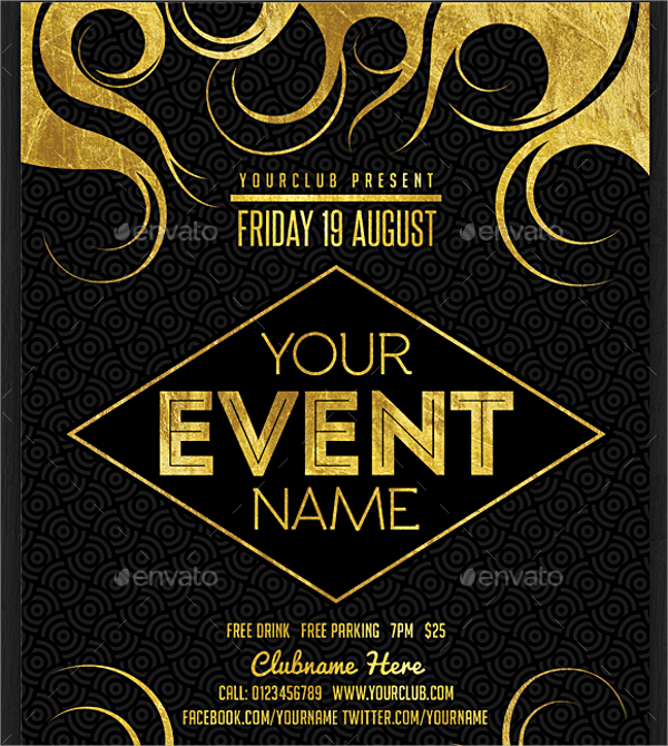 event flyer design