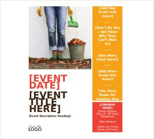 event flyer templates free autumn seasonal event flyer