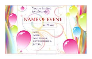 event flyer templates free event invitation flyer