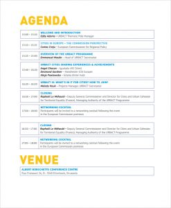 event itinerary template event agenda template