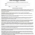 event planner contract event contract template example