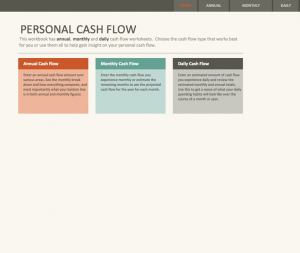event planning worksheet simple personal cash flow statement