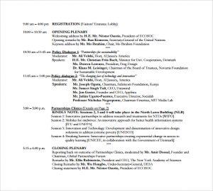 event program template artist event program template