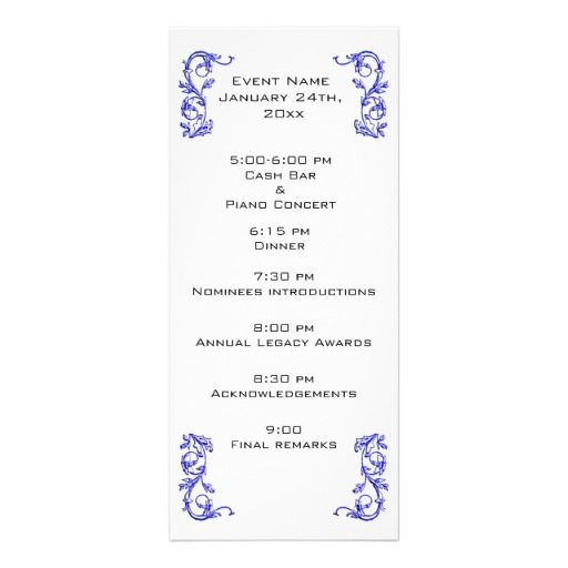 Event Program Template | Template Business
