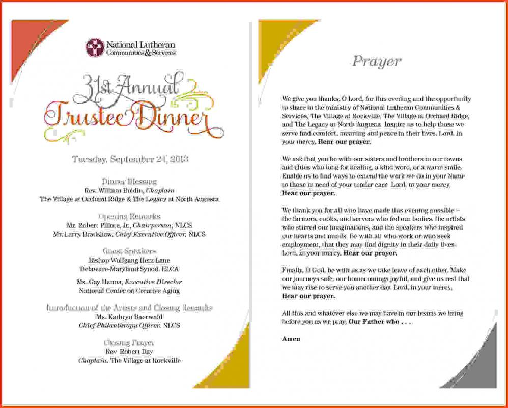 heather rasmussen event program design and layout for print