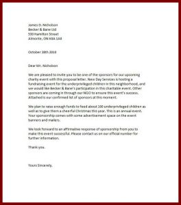 event sponsorship letter sponsorship letter sponsorship proposal templates event sponsorship