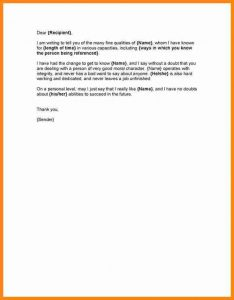 eviction notice sample character reference letters samples